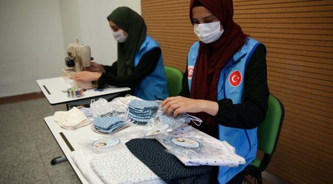 Türkiye Diyanet Vakfından maske seferberliği
