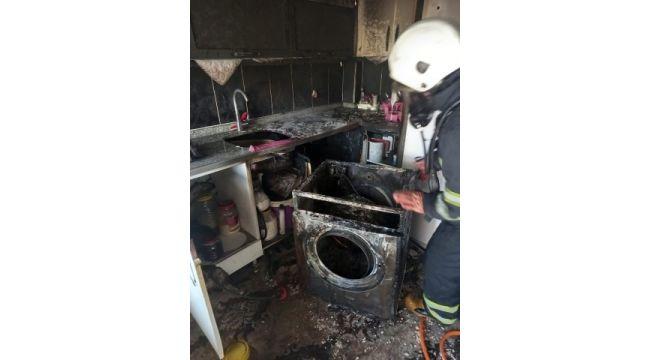Mutfakta çıkan yangın söndürüldü