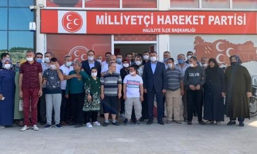 Şanlıurfa'da MHP teşkilatı engellilerle buluştu