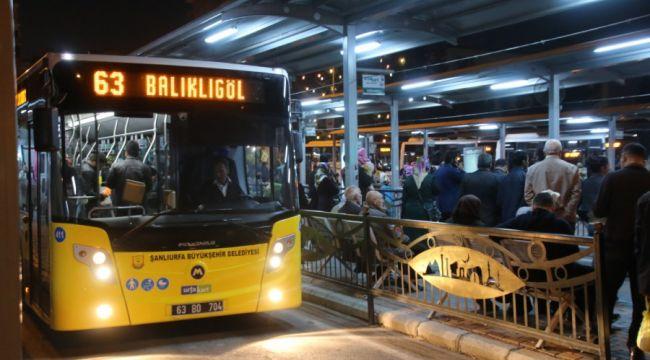 Urfalılar Büyükşehirin otobüs alımından memnun(Video)