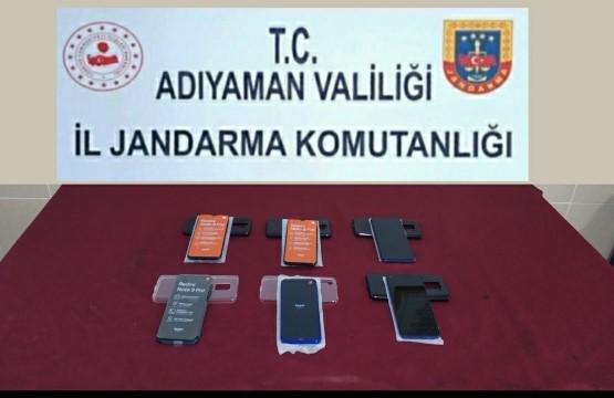 Jandarma kaçak cep telefonu ele geçirdi