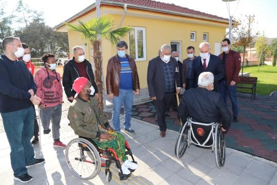Engelli vatandaşlardan Baydilli'ye 'engelsiz park' teşekkürü (Videolu Haber)