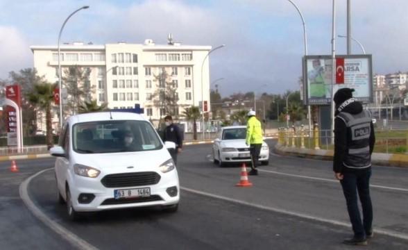 Şanlıurfa'da kısıtlamayı ihlal eden 126 kişiye 350 bin lira para cezası