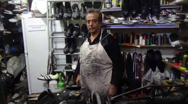Ayakkabı tamirciliği mesleğine rağbet yok (video)