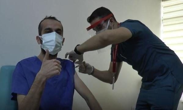 Şanlıurfa'da 62 bin 536 kişiye koronavirüs aşısı yapıldı