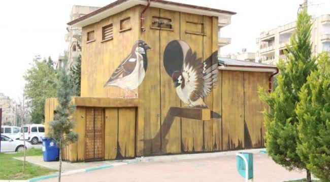 Haliliye Belediyesi ile trafolar sanat eserine dönüşüyor (video)