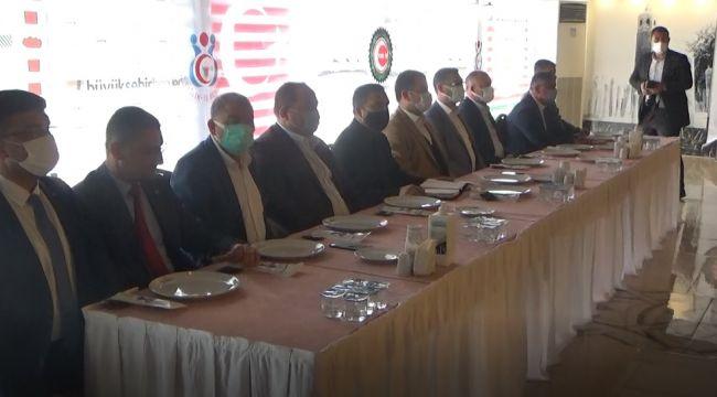 Öz Sağlık-İş Sendikası Şanlıurfa temsilcileri ile istişare toplantısı yapıldı( video)