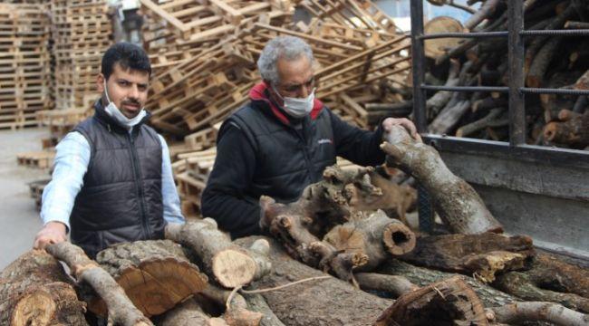 Şanlıurfa'da odun satışları arttı