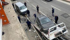 Şanlıurfa'da zincirleme kaza: 3 yaralı