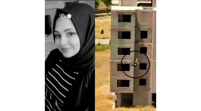 Şanlıurfa'da genç kız 6'ıncı kattan atladı (Video)