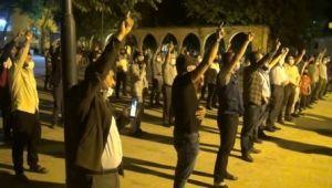 Şanlıurfa'da İsrail'in Mescid-i Aksa'ya saldırıları protesto edildi
