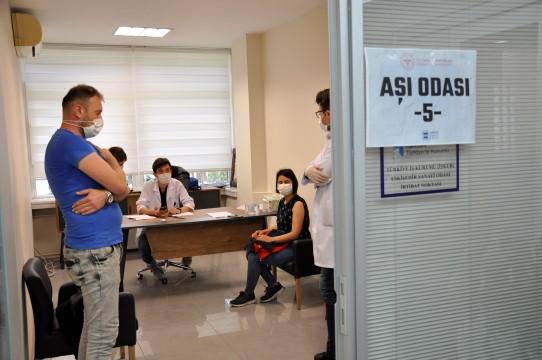 ESO kapıları işçilere aşı için açıldı
