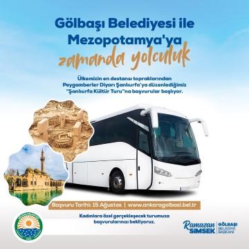 Ankara topraklarından Mezopotamya'ya yolculuk başlıyor