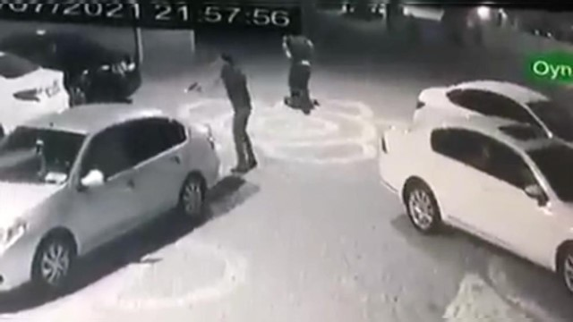 Avukat ile kardeşinin öldürülme anı kamerada
