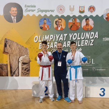ÇESK'ten karatede iki Türkiye ikinciliği