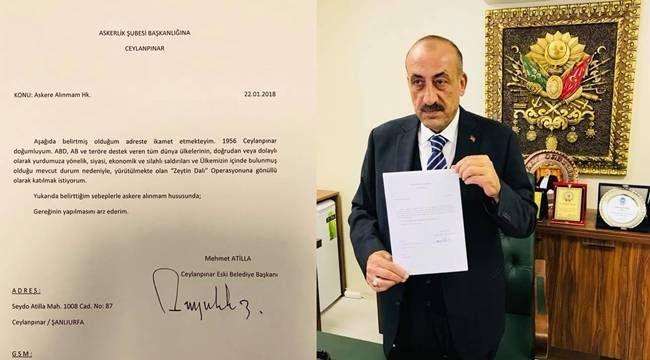 Ceylanpınar eski Belediye Başkanı Atilla vefat etti.