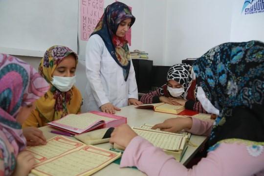 Eyyübiyeli kadınlardan Başkan Kuş'a teşekkür