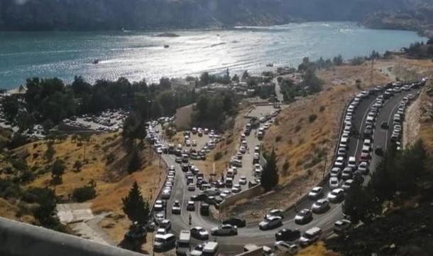 Halfeti'de Kurban Bayramı'nda ziyaretçi rekoru kırıldı ( Video Haber )