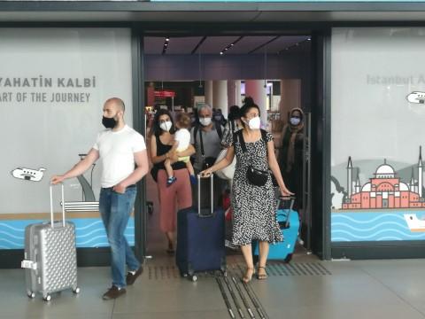 İstanbul Havalimanı'nda pandemi döneminin yeni rekoru bekleniyor ( Video Haber )