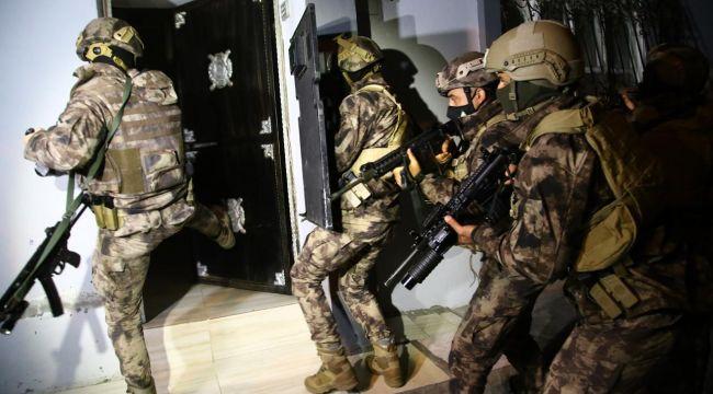 Şanlıurfa'da terör operasyonu: 4 gözaltı