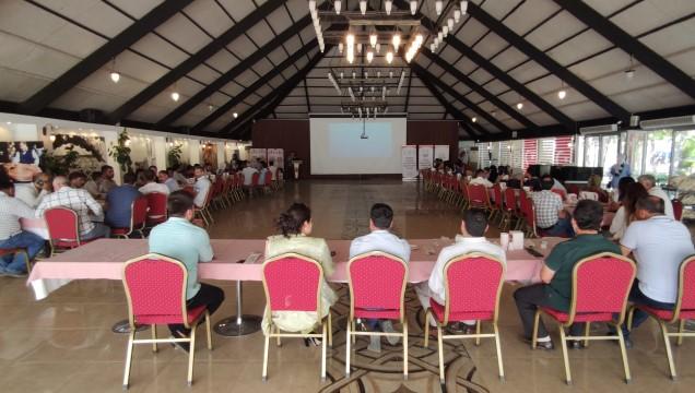 Şanlıurfalı çiftçilere mısır yetiştiriciliği eğitimi