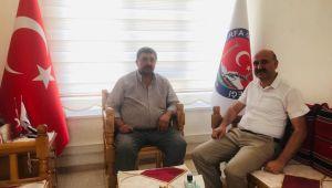 BİK Müdürü Osman Bolluk'dan Şanlıurfa Gazetesine ziyaret