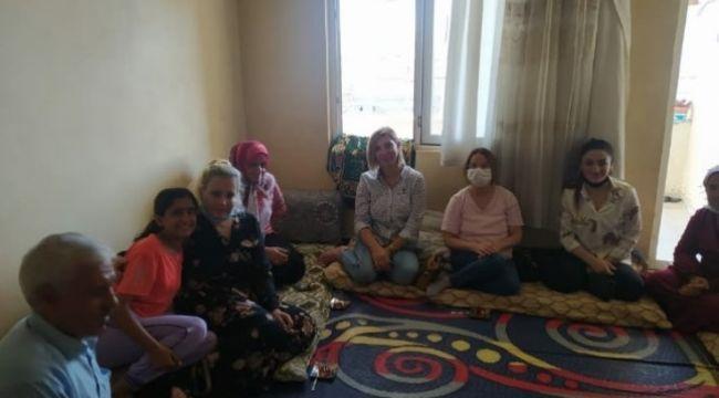 CHP Kadın Kolları Şanlıurfa'da Saha Çalışmalarını Sürdürüyor