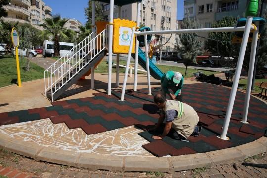 Halileye belediyesinden yeni park çalışması ( Video Haber )