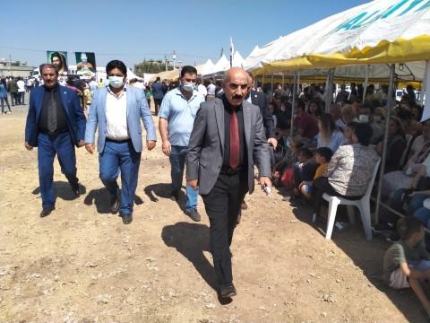 İl Başkanı Cidir ve CHP Heyeti Kısas'ta Aşure Etkinlini Katıldı