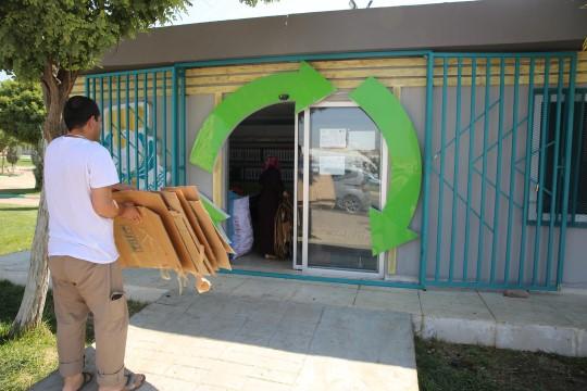 Şanlıurfa'da yüzlerce kilo atık, geri dönüşüme kazandırıldı
