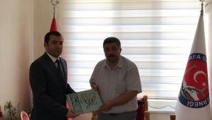 BİK Şube Müdürü Kara'dan Güler'e ziyaret