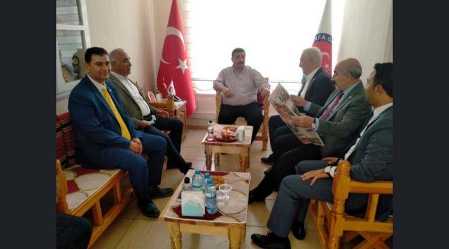 CHP Heyetinden Güler'e ziyaret