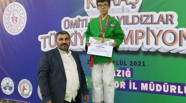 Eyyübiye Belediyesi sporcusu Türkiye Şampiyonu oldu.