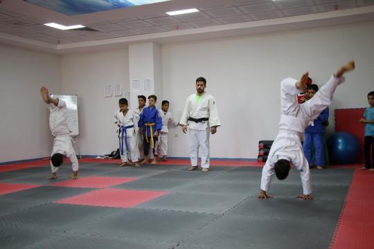 Şanlıurfa'da lisanslı judocular yetiştiriliyor